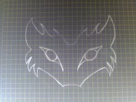 wolf mask by VMSS19