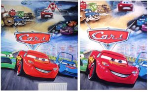 Cars wall painting by chrisxart