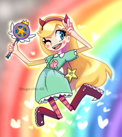 Star butterfly by Shuga-Chu