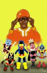 The Uncanny Yo Gabba Gabba by roryherman