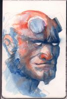 Hellboy by carloscara