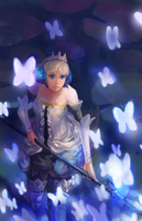Odin Sphere : Butterflies Pass by augipaw