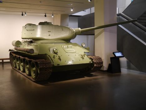 T34 at the IWM by Party9999999