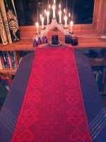 Christmas Tablecloth by ToveAnita