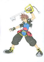The hero of Keyblade by Ronin-errante
