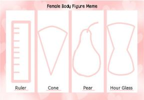 Female Body Figure Meme by IrisSapphire