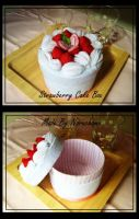 Starwberry Cake Box by naruchama