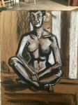 Live Nude Model 07/01/2014 by AndyMichaelArt