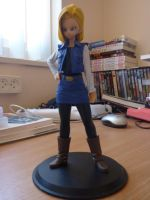 Figurine - Android 18 by SSJGarfield