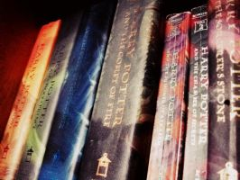 My Childhood Years In 7 Books by XbeautifulXillusionX