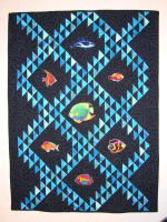 Baby Quilt - Sea Theme by StarValkyrie