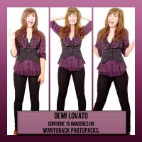 Photopack 252: Demi Lovato by PerfectPhotopacksHQ