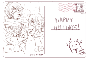 [12.27.2013] Happy Holidays ! by akiicchi