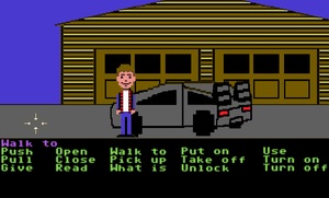 Back to the Future: The Game C64 Style by JenniBee
