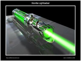 Xionite Lightsaber by Hailfire6