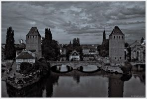 ± Strasbourg: Twin Towers ± by Sigurd-Quast