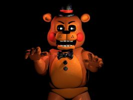 Still Freddy- But Shiny 3D Remake by Bount56