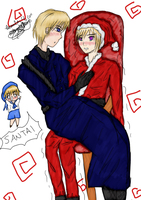 SuFin: All I Want For Christmas Is You by SangoxandxKirara