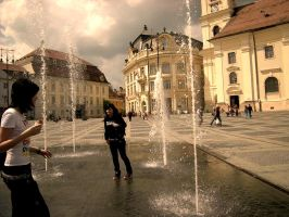 Sibiu by in-the-mirror