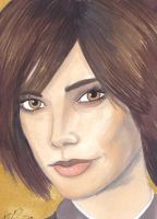 Alice Cullen Sketch Card by lubyelfears