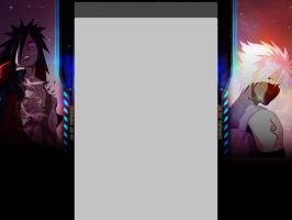 Galaxy Naruto YouTube Background by Vefearx