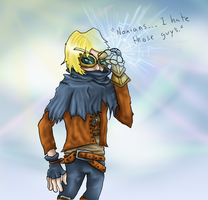 Ezreal- Colored by Hecterian