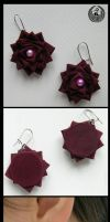 Old Wine - Earrings by Arleen