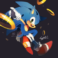 Sonic by Hanybe