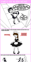 Leila and The Cat Maid Meme by leila-stoat