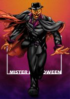 Commish : Mister Halloween by wansworld