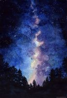 Milky Way by Diavell