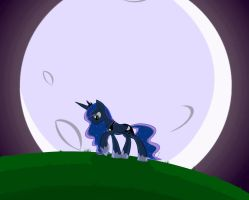 Full Moon by Bratzoid