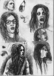 a lot of faces by ototoi