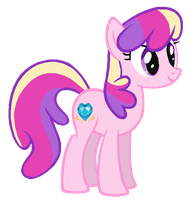Cheerilee in Princess Cadence's colors by ClassicsAreDEAD