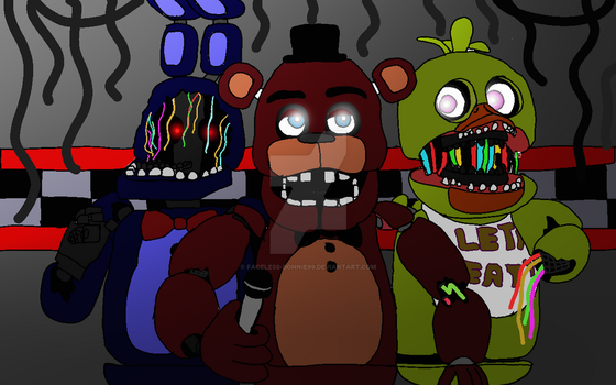 Fnaf Old Forgotten by Faceless-Bonnie99