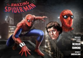 Spider-man by Simon-Williams-Art