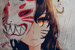 Ahri's Tears [ Bloodmoon Mask ] by RZAP