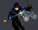 nightwing by knight-alui