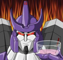 Galvatron Wineglass by Tibby101