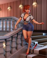 Pinup by HeV3D
