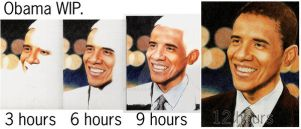 Obama WIP Stages by daniel-w