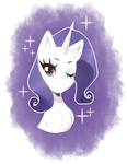 Rarity by Bunny-Hana