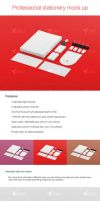 Professional stationery mock up by SDMD