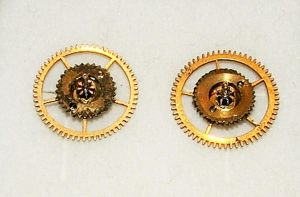 Steampunk Stud Earrings by Aethergoggles