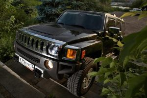 hummer h3 front by teleViZor