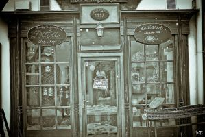 Coffe shop in Vintage Style by F-Ninny