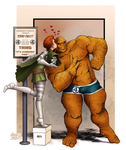 The Thing - Fantastic Kiss by gregbo