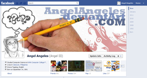 Facebook Timeline Art by AngelAngeles