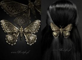 Mechanical Moth brass by Euflonica