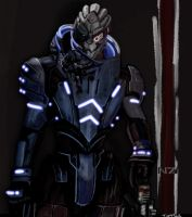 Garrus Vakarian by TuftTail